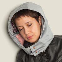 Капюшон с подушками Хорошо там, где ты спишь