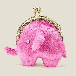 Кошелек-монетница Розовый слон