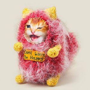 Игрушка котик Don`t Worry Be Happy