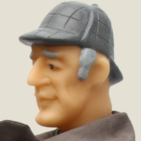 кукла Шерлок Холмс