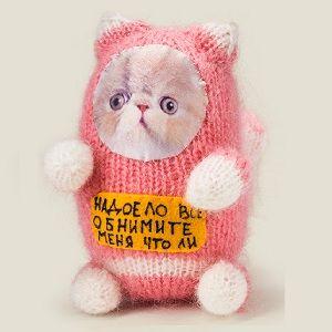 Игрушка котик Обнимите меня