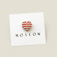 значок Heart of Moscow